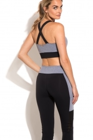 Sports bra Cross | grey