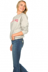 Lois Jeans |  Logo sweater Iris | grey  | Picture 6