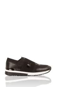 Leather sneakers Lux | black