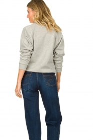 Lois Jeans |  Sweater with print Bull | grey  | Picture 6