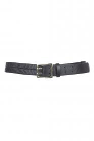Magali Pascal    Herringbone hip belt Laurena   black    Picture 1