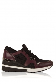 MICHAEL Michael Kors | Wedge sneakers Scout | zwart  | Afbeelding 1