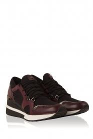 MICHAEL Michael Kors | Wedge sneakers Scout | zwart  | Afbeelding 3