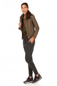 MICHAEL Michael Kors | Wedge sneakers Scout | zwart  | Afbeelding 2