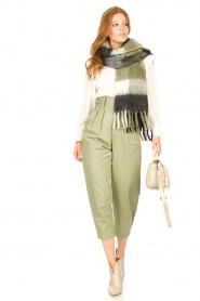 Magali Pascal    Pleated pants Gurka   green    Picture 2