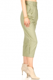 Magali Pascal    Pleated pants Gurka   green    Picture 5