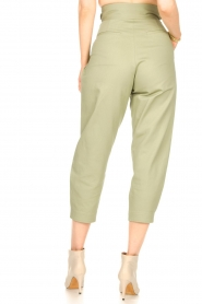 Magali Pascal    Pleated pants Gurka   green    Picture 6