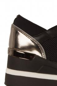 MICHAEL Michael Kors | Wedge sneakers Scout | zwart  | Afbeelding 5