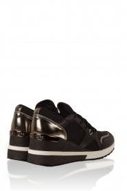 MICHAEL Michael Kors | Wedge sneakers Scout | zwart  | Afbeelding 4