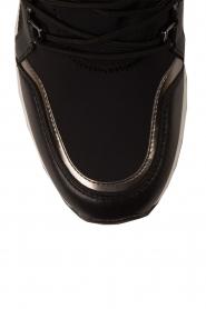 MICHAEL Michael Kors | Wedge sneakers Scout | zwart  | Afbeelding 6