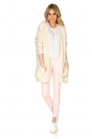 Articles of Society | 'Super soft' Skinny jeans Sarah | lichtroze  | Afbeelding 3