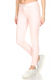 Articles of Society | 'Super soft' Skinny jeans Sarah | lichtroze  | Afbeelding 4