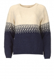 Blaumax |  Sweater with ombre Largatha | blue  | Picture 1