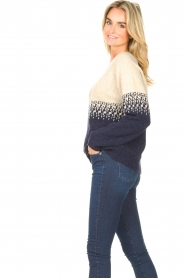 Blaumax |  Sweater with ombre Largatha | blue  | Picture 6