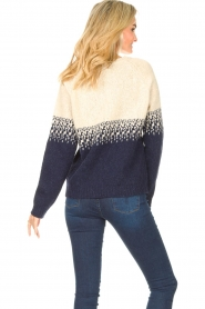 Blaumax |  Sweater with ombre Largatha | blue  | Picture 7