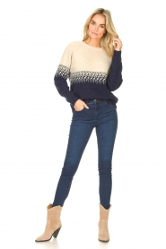 Blaumax |  Sweater with ombre Largatha | blue  | Picture 3
