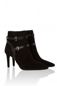 Leren enkellaarzen Fawn | Zwart, Leather ankle boots Fawn | Blac