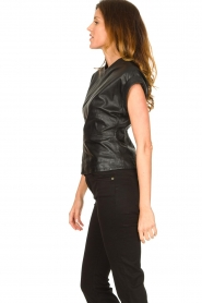 Ibana |  Leather top Tana | black  | Picture 6