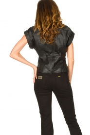 Ibana |  Leather top Tana | black  | Picture 7