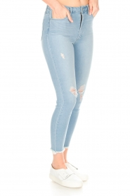 Articles of Society | High-rise jeans Heather Liverpool | blauw  | Afbeelding 4