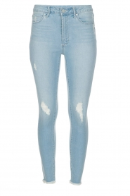 High-rise jeans Heather Liverpool | blauw