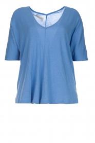 BLAUMAX |  T-shirt Finez | blue  | Picture 1