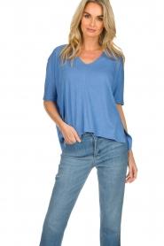 BLAUMAX |  T-shirt Finez | blue  | Picture 2