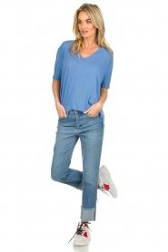 BLAUMAX |  T-shirt Finez | blue  | Picture 3