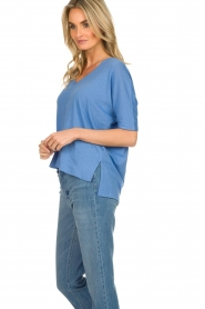 BLAUMAX |  T-shirt Finez | blue  | Picture 4