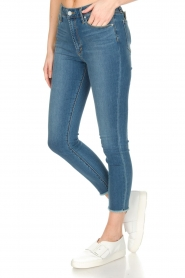 Articles of Society : High-rise jeans Heather Paris | blauw - img4