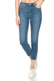 Articles of Society : High-rise jeans Heather Paris | blauw - img2