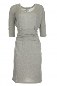 Blaumax |  Dress with waistband Mila | grey  | Picture 1