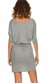 Blaumax |  Dress with waistband Mila | grey  | Picture 5