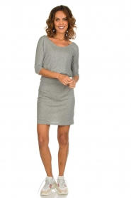 Blaumax |  Dress with waistband Mila | grey  | Picture 3