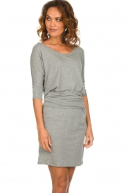 Blaumax |  Dress with waistband Mila | grey  | Picture 2