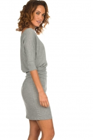 Blaumax |  Dress with waistband Mila | grey  | Picture 4