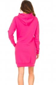 Blaumax |  Hooded sweater dress Harlem | pink  | Picture 6