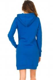 Blaumax |  Hooded sweater dress Harlem | blue  | Picture 7