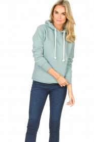 Blaumax    Basic cotton hoodie Harlem   light blue    Picture 4