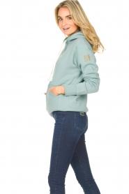 Blaumax    Basic cotton hoodie Harlem   light blue    Picture 5