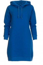 Blaumax |  Hooded dress Harlem | blue  | Picture 1
