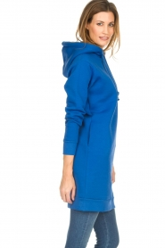 Blaumax |  Hooded dress Harlem | blue  | Picture 4