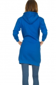 Blaumax |  Hooded dress Harlem | blue  | Picture 5