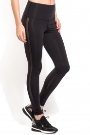 Sports leggings Mesh | black