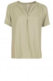 Knit-ted | Top Eef | groen  | Afbeelding 1