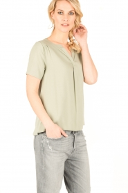 Knit-ted | Top Eef | groen  | Afbeelding 4