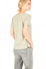 Knit-ted | Top Eef | groen  | Afbeelding 5