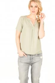 Knit-ted | Top Eef | groen  | Afbeelding 6
