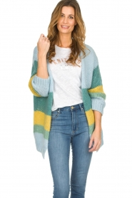 Be Pure | Cardigan Riley | blue  | Picture 4