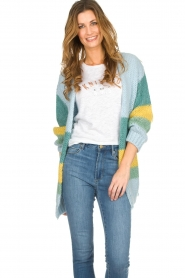 Be Pure | Cardigan Riley | blue  | Picture 2